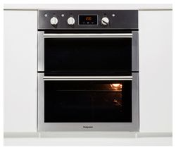 HOTPOINT Class 4 DU4 541 IX Electric Built-under Double Oven - Black & Stainless Steel