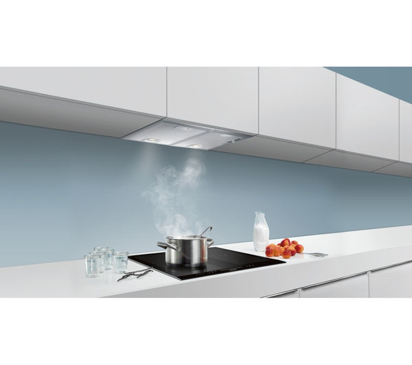 SIEMENS LB55564GB Canopy Cooker Hood - Silver  sc 1 st  Currys & Buy SIEMENS LB55564GB Canopy Cooker Hood - Silver | Free Delivery ...