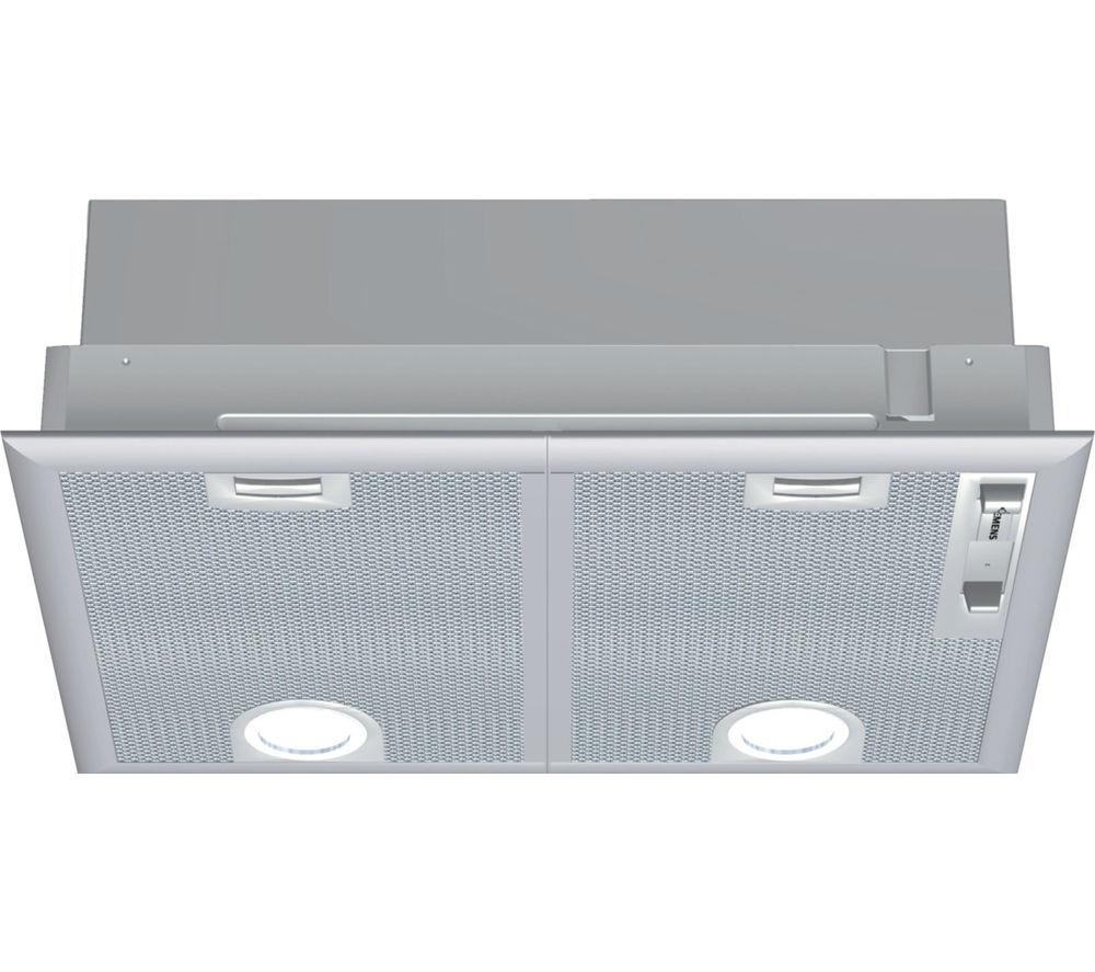 SIEMENS LB55564GB Canopy Cooker Hood - Silver