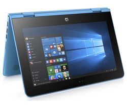 "HP Stream x360 11.6"" 2 in 1 - Aqua Blue"