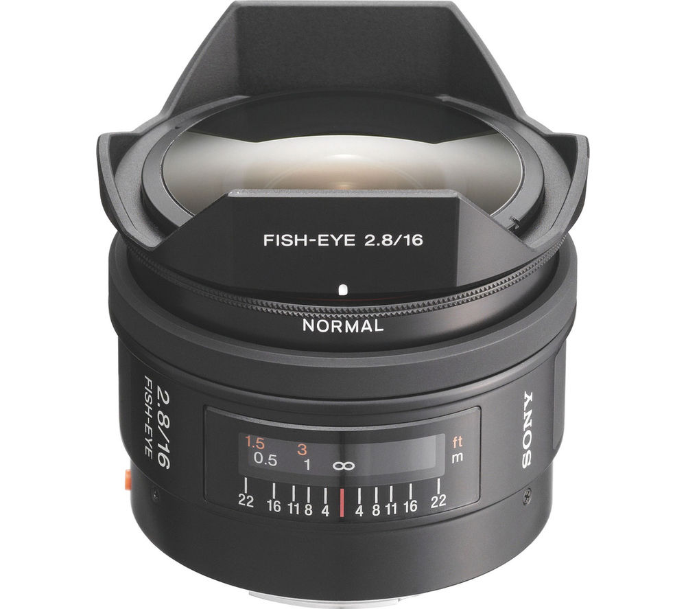SONY 16 mm f/2.8 Fisheye Lens