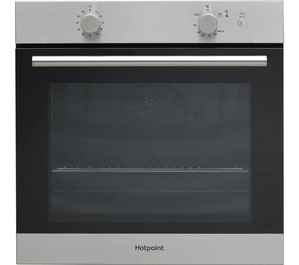 HOTPOINT GA2124IX Gas Oven – Stainless Steel, Stainless Steel