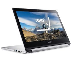 R13 2 in 1 Chromebook - 64 GB eMMC, Silver