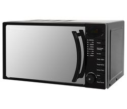 RUSSELL HOBBS RHM1714B Solo Microwave - Black Best Price, Cheapest Prices
