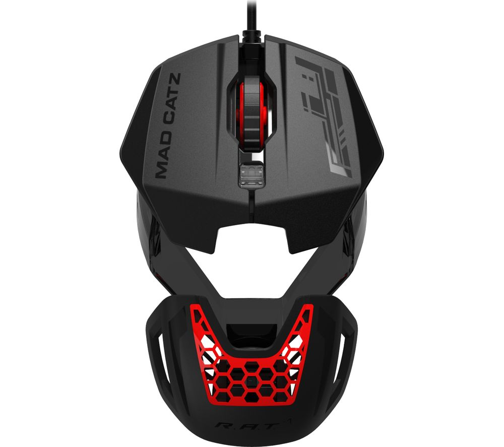 mad catz rat 1 optical gaming mouse deals pc world. Black Bedroom Furniture Sets. Home Design Ideas