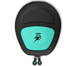 PORT DESIGNS Arokh Universal Gaming Headset Case - Black & Green
