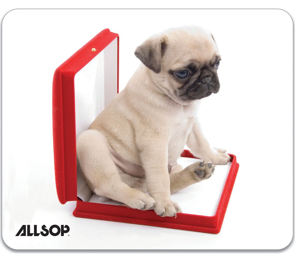 Compare prices for Allsop Dog in Box Mouse Mat
