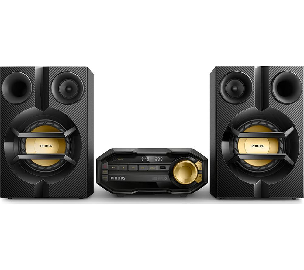 Buy Philips Fx10 12 Megasound Hi Fi System Black Free