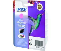 EPSON T0806 Hummingbird Light Magenta Ink Cartridge