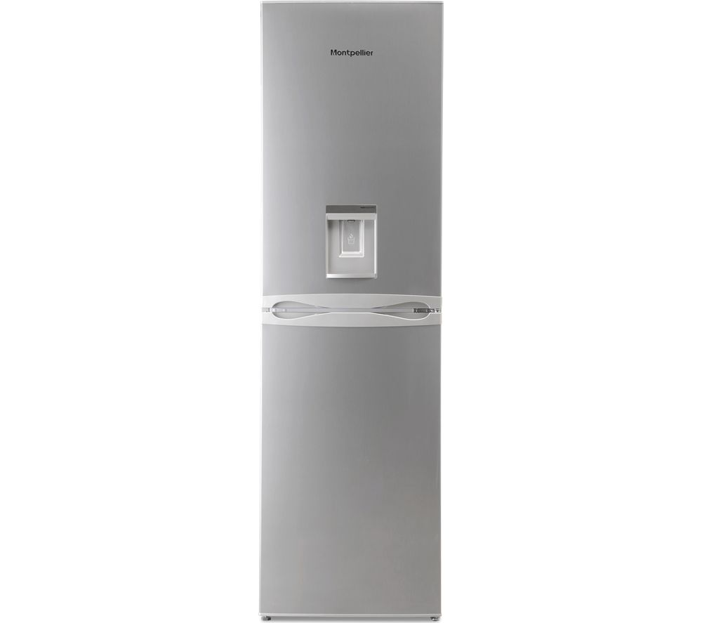 MONTPELLIER MFF183ADX 50/50 Fridge Freezer - Inox