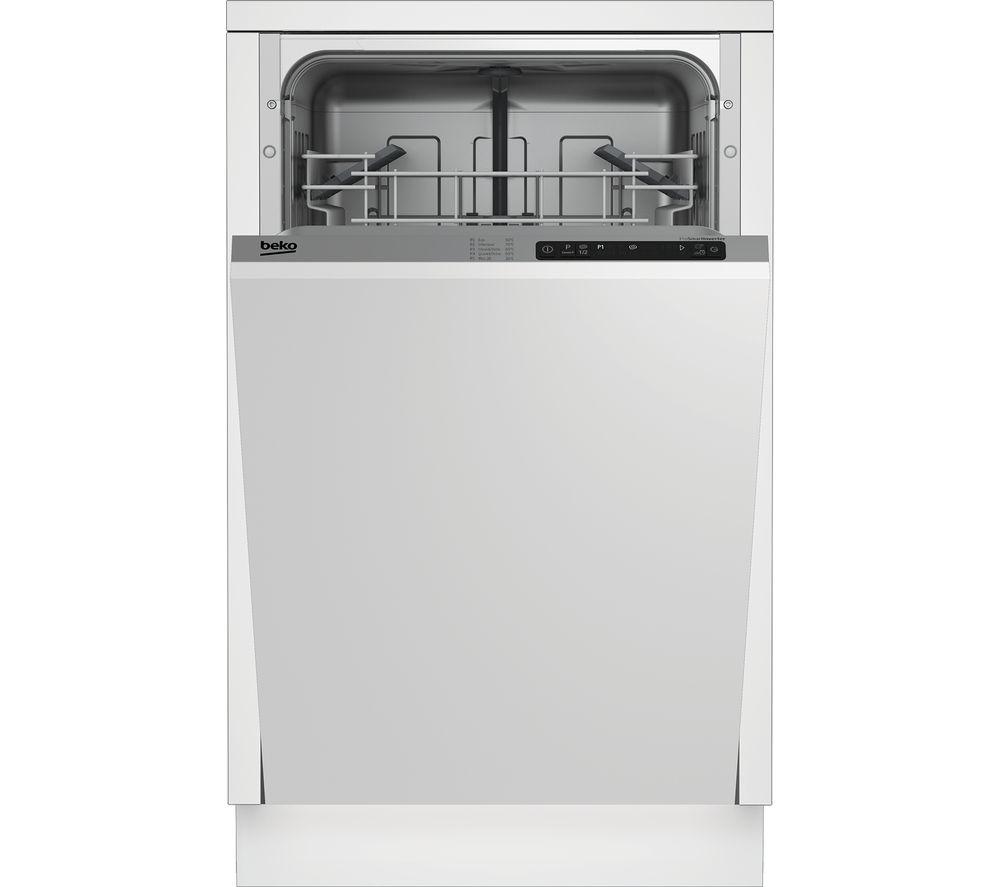 Image of BEKO DIS15011 Slimline Integrated Dishwasher