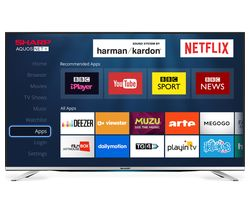 "SHARP LC-40CFG6452K 40"" Smart LED TV"