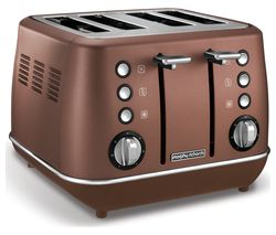MORPHY RICHARDS Evoke Premium 4-Slice Toaster - Bronze