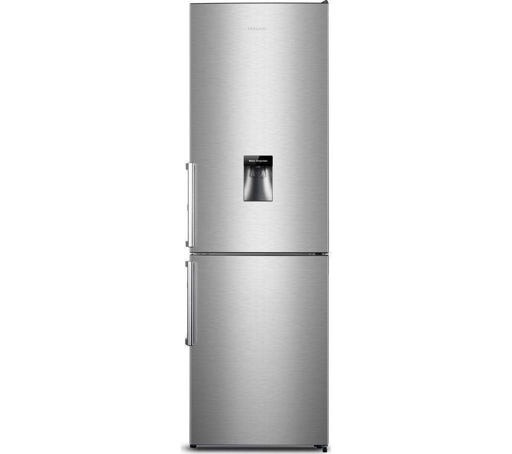 Image of KENWOOD KNFD60X18 60/40 Fridge Freezer - Inox