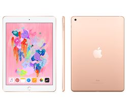 "APPLE 9.7"" iPad - 128 GB, Gold (2018)"