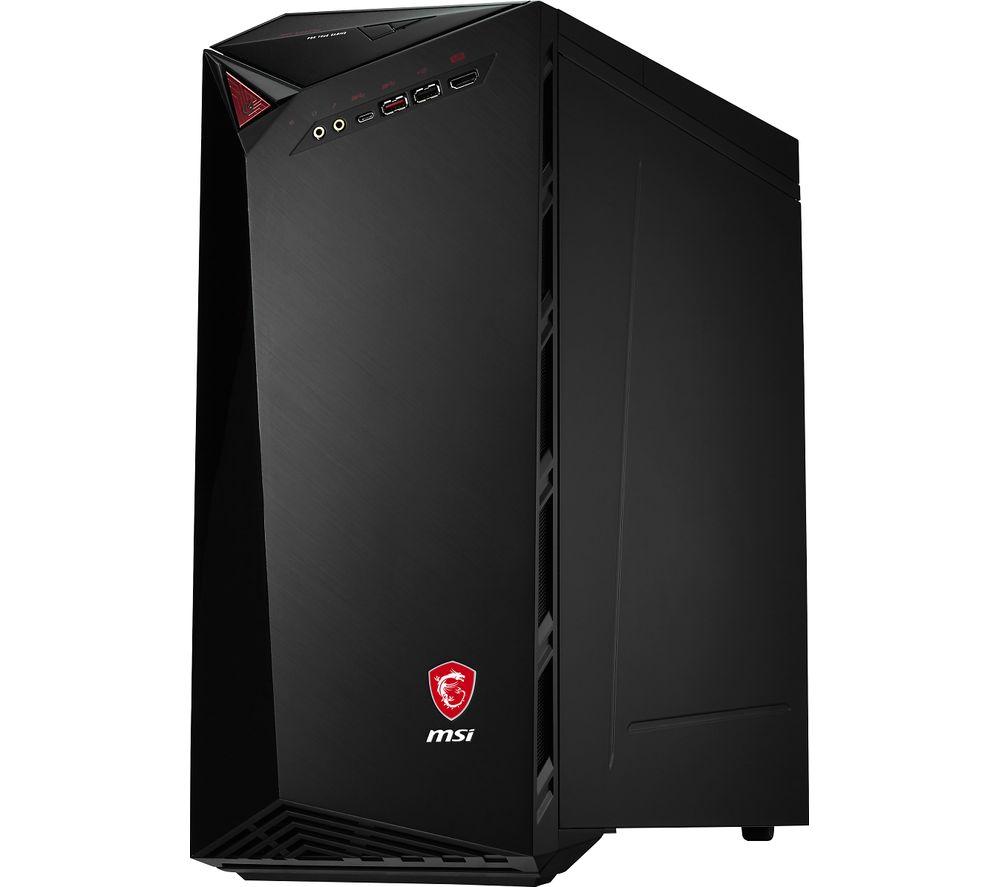 MSI Infinite A 8RC 296UK Intel® Core™ i5 Desktop PC – 2 TB, Black, Black