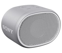 SONY SRS-XB01 Portable Bluetooth Speaker - White & Grey