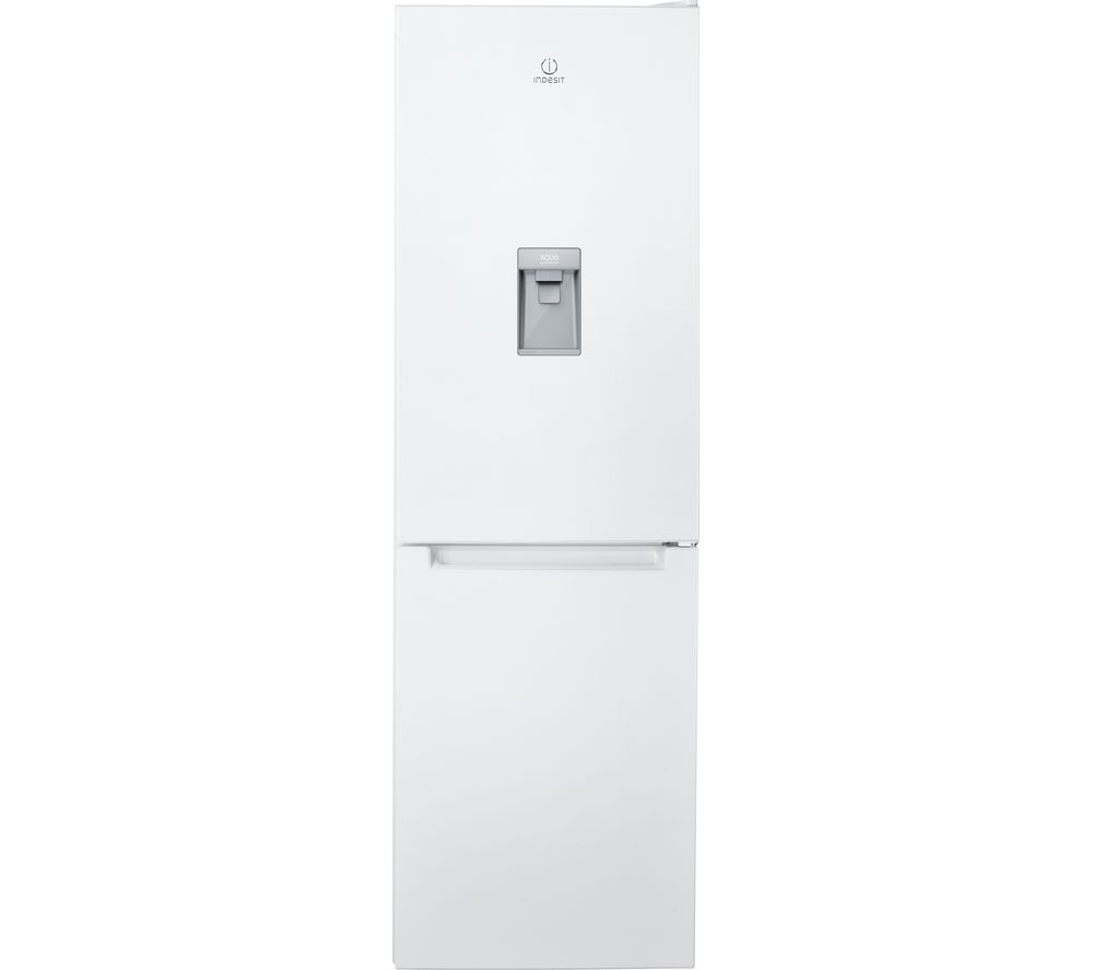 INDESIT LR8 S1 W AQ UK.1 60/40 Fridge Freezer - White, White