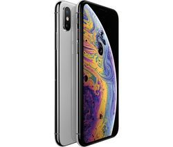 APPLE iPhone Xs - 64 GB, Silver