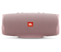 JBL Charge 4 Portable Bluetooth Speaker - Pink