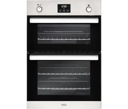 BELLING BI902G Gas Double Oven - Stainless Steel