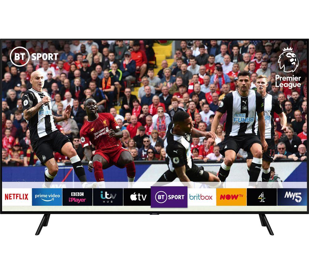 """SAMSUNG QE75Q70RATXXU 75"""" Smart 4K Ultra HD HDR QLED TV with Bixby"""