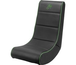 GOJI GROCKGR19 Gaming Chair - Black & Green