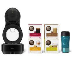 DOLCE GUSTO by Krups Lumio KP130841 Coffee Machine Travel Kit - Black
