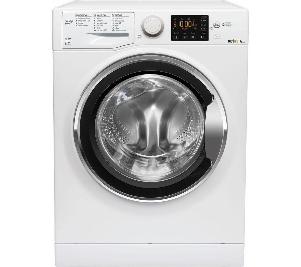 HOTPOINT Ultima WDG 964S UK 9 kg Washer Dryer - White