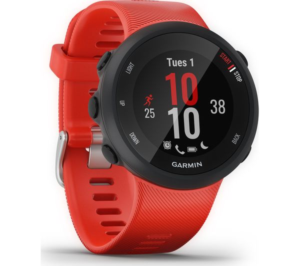 Image of GARMIN Forerunner 45 Running Watch - Lava Red, Large