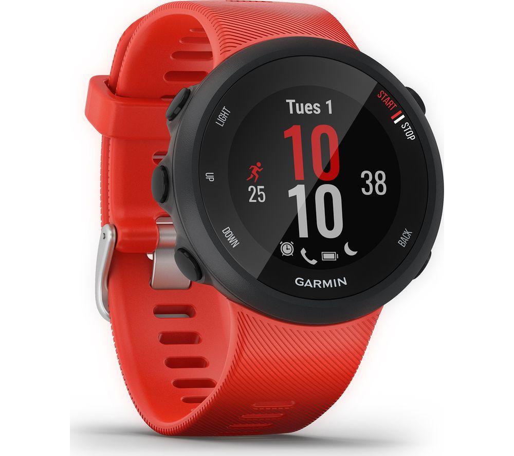 GARMIN Forerunner 45 Running Watch - Lava Red, Large