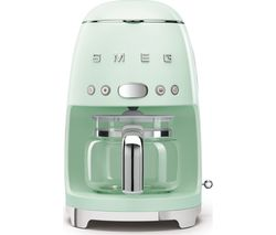 50's Retro DCF02PGUK Filter Coffee Machine - Pastel Green