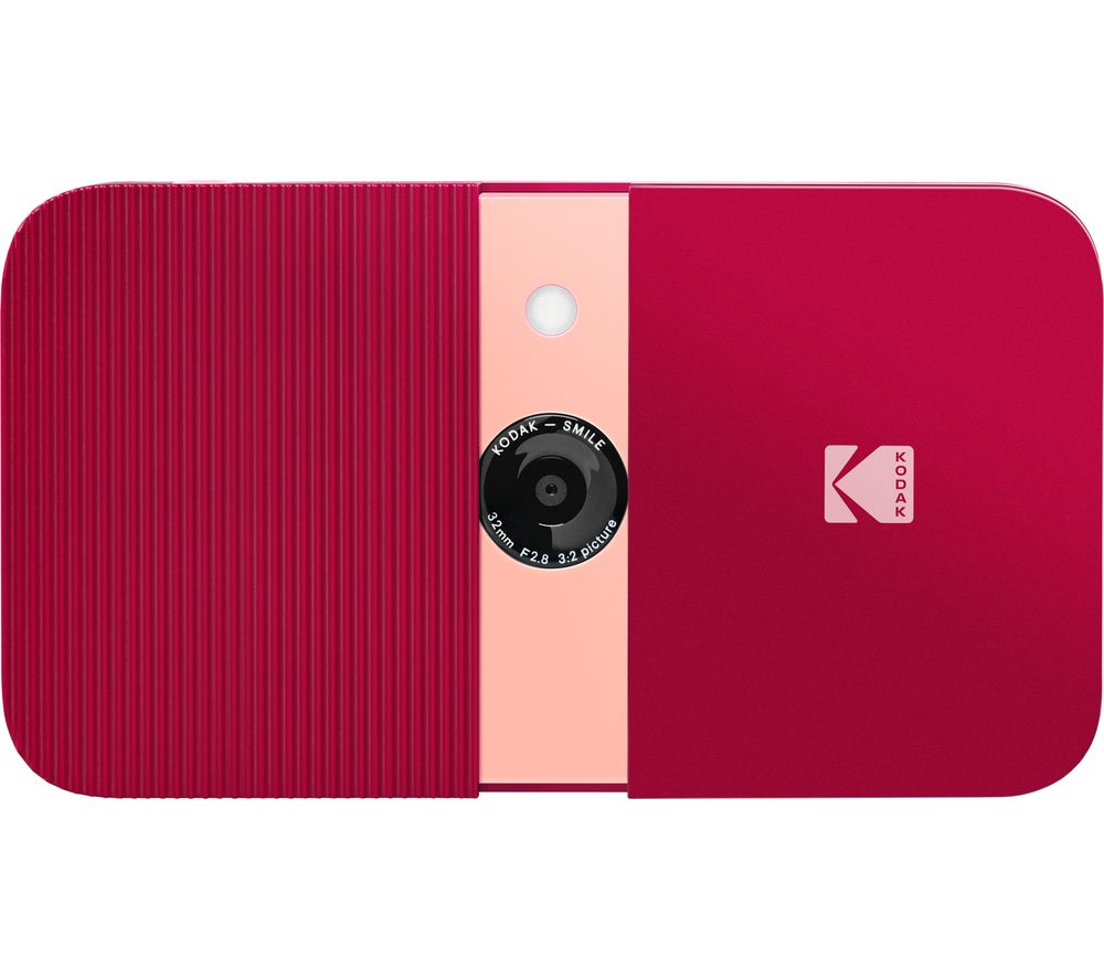 KODAK Smile Digital Instant Camera - Red
