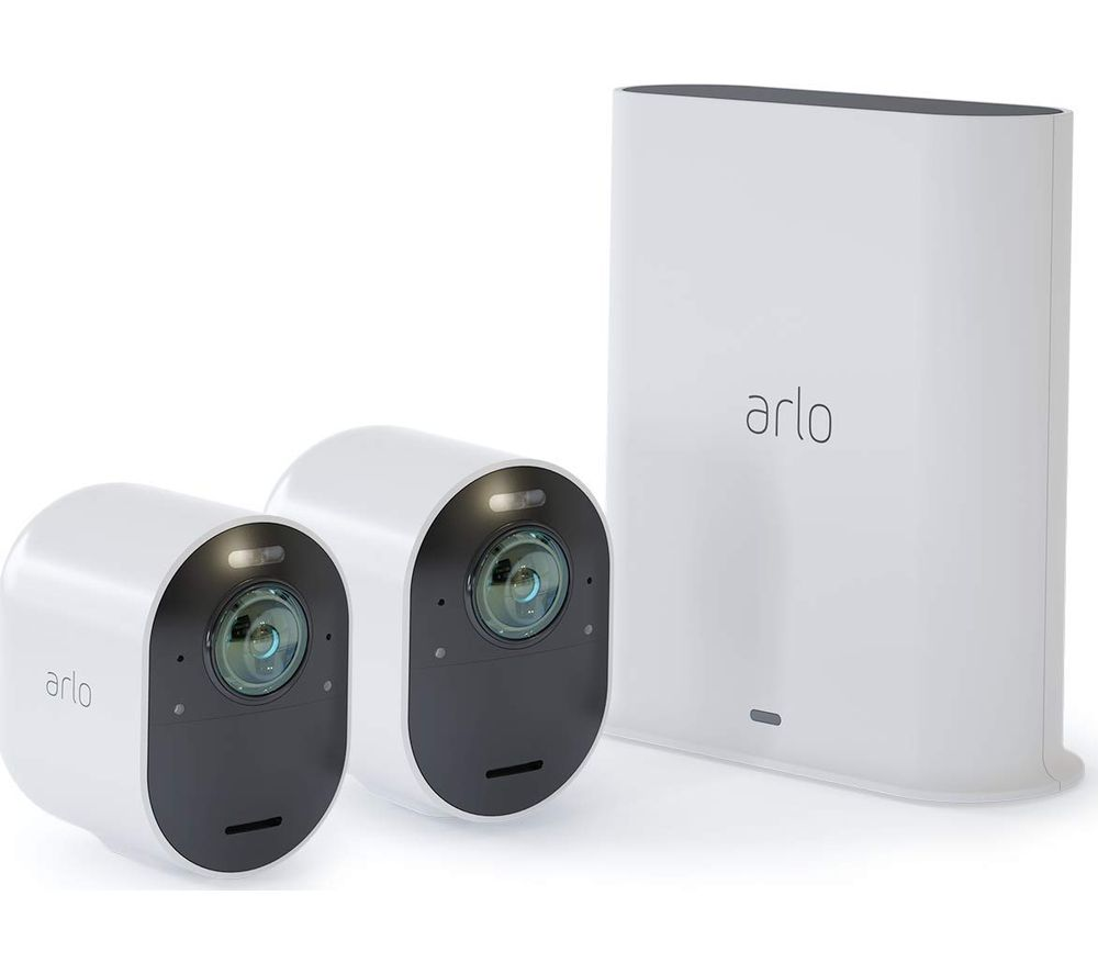 Image of ARLO Ultra VMS5240-100EUS 4K Ultra HD WiFi Security Camera Kit - 2 Cameras