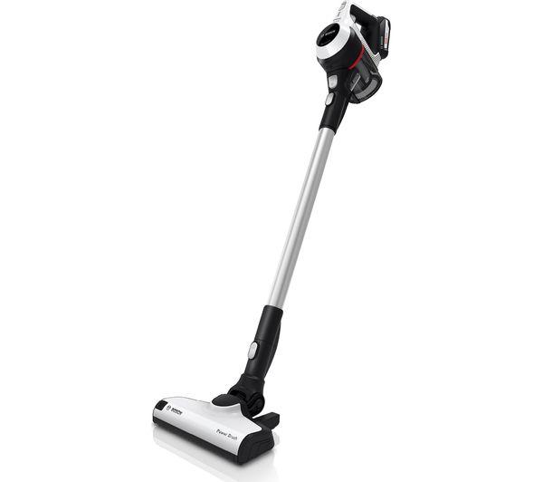 Image of BOSCH BCS612GB Cordless Vacuum Cleaner - White