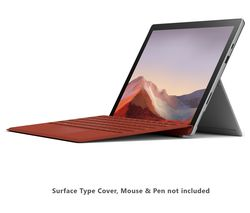 "MICROSOFT 12.3"" Intel® Core™ i3 Surface Pro 7 - 128 GB SSD, Platinum"