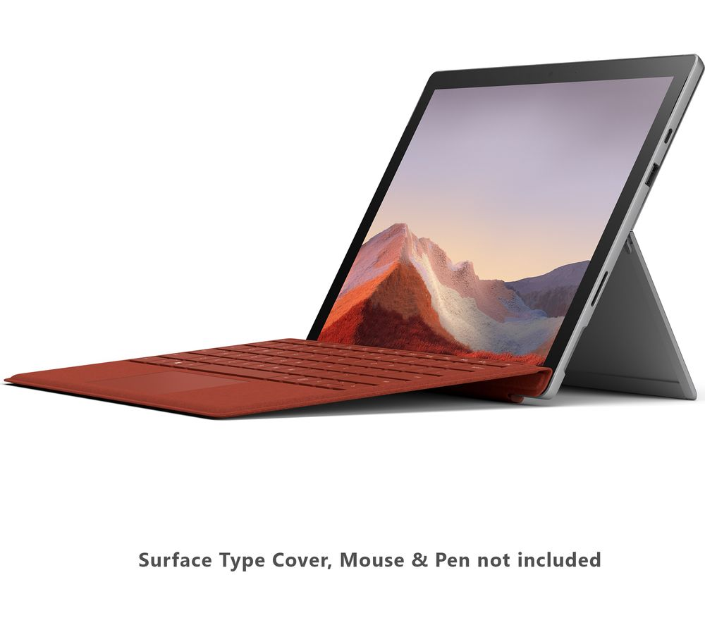 "Image of MICROSOFT 12.3"" Surface Pro 7 - Intel®Core™ i3, 128 GB SSD, Platinum"