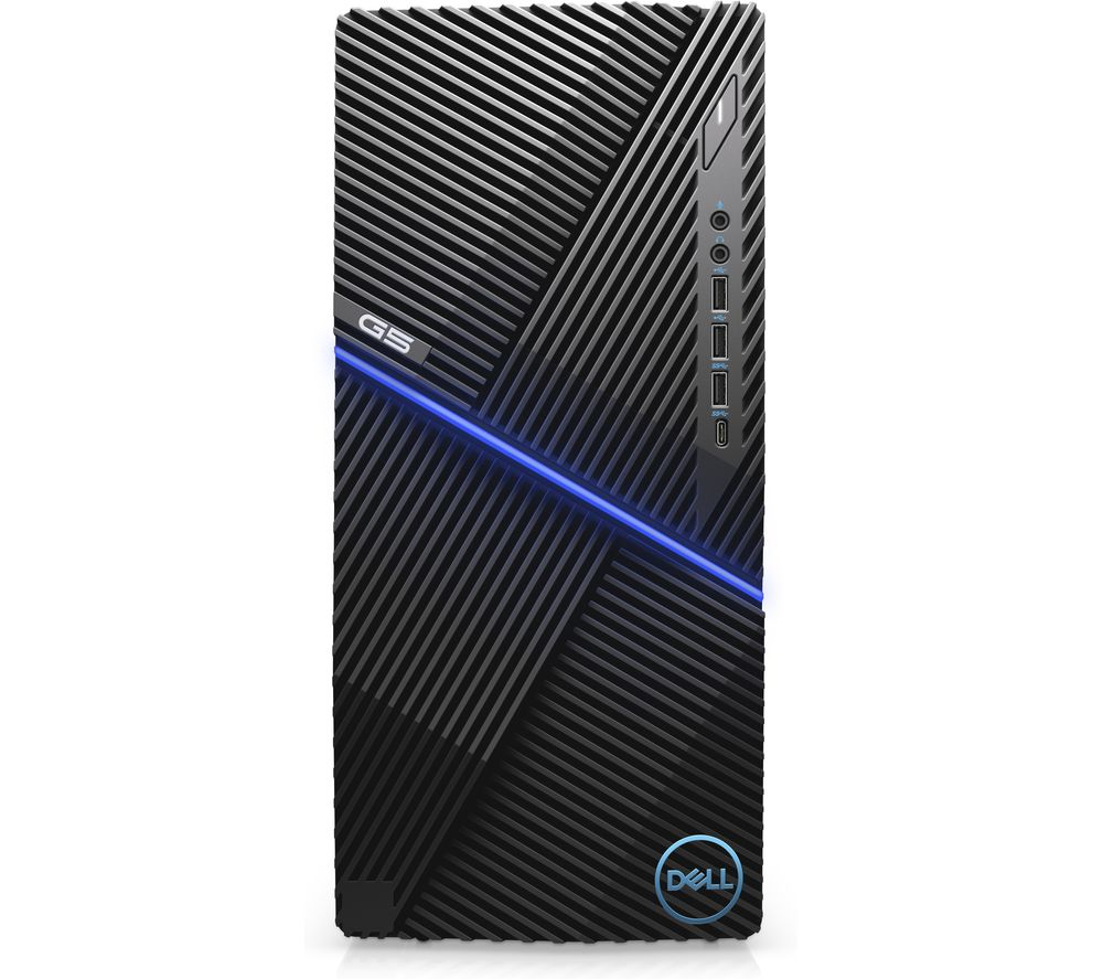 DELL G5 Tower 5090 Intel® Core™ i5 GTX 1660 Ti Gaming PC - 1 TB HDD & 256 GB SSD