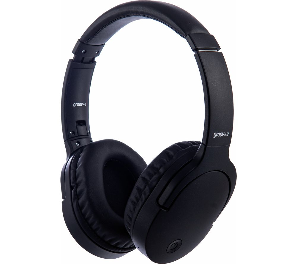 GROOV-E Ultra GV-BT750-BK Wireless Bluetooth Headphones - Black