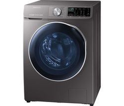 SAMSUNG ecobubble WD10N645RAX WiFi-enabled 10 kg Washer Dryer - Inox