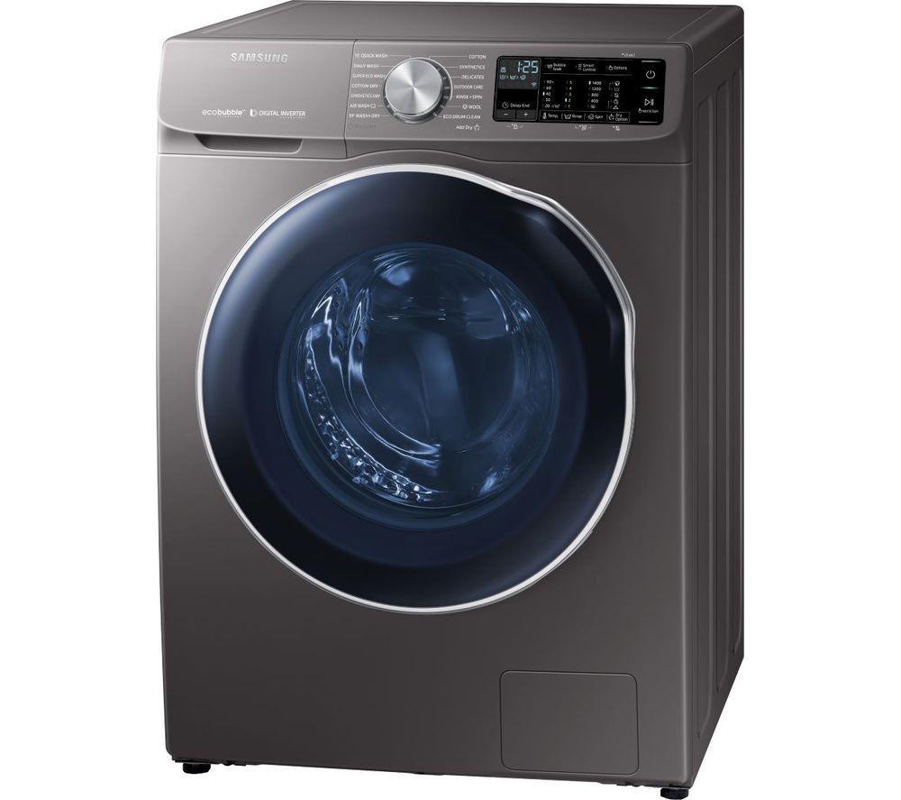 ecobubble WD10N645RAX WiFi-enabled 10 kg Washer Dryer - Inox