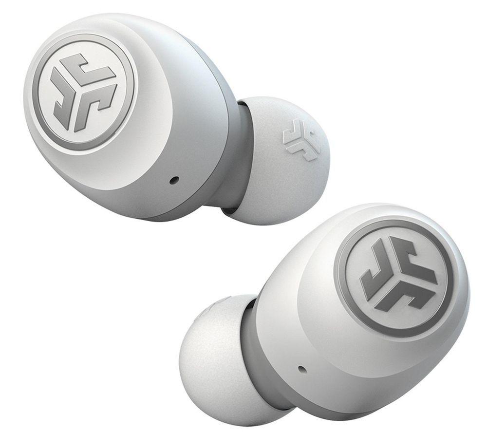 Image of JLAB AUDIO GO Air Wireless Bluetooth Earphones - White & Grey, White