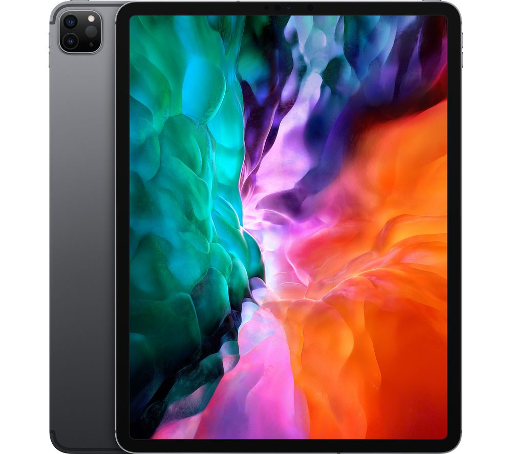 "Image of APPLE 12.9"" iPad Pro (2020) Cellular - 128 GB, Space Grey, Grey"