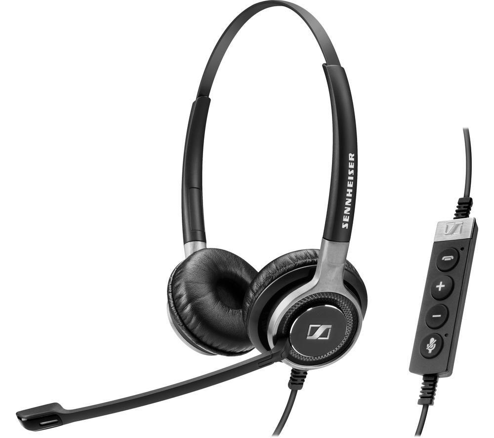 SENNHEISER Centrury SC 660 USB ML Headset -  Black & Silver