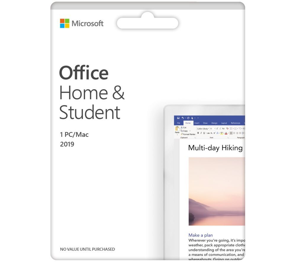 Image of Microsoft 365 Home & Student – Lifetime for 1 user
