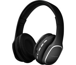 Phonic VK-2002-BK Wireless Bluetooth Headphones - Black