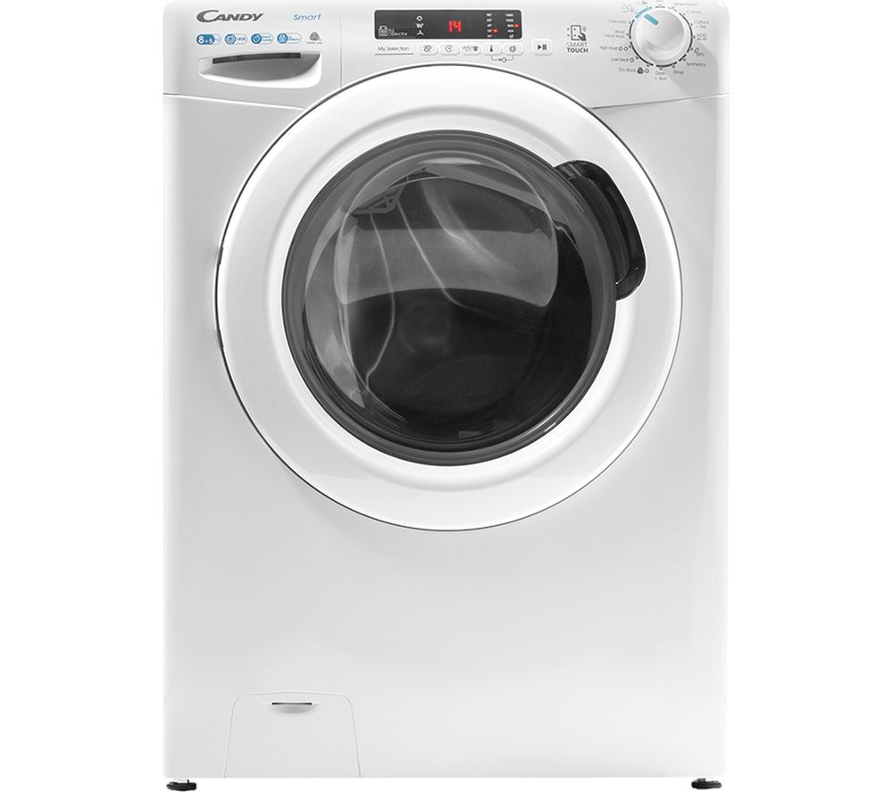 CANDY CSW 4852DE NFC 8 kg Washer Dryer - White, White