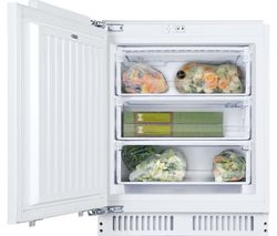 HBFUP 130NK/N Integrated Undercounter Freezer - Fixed Hinge