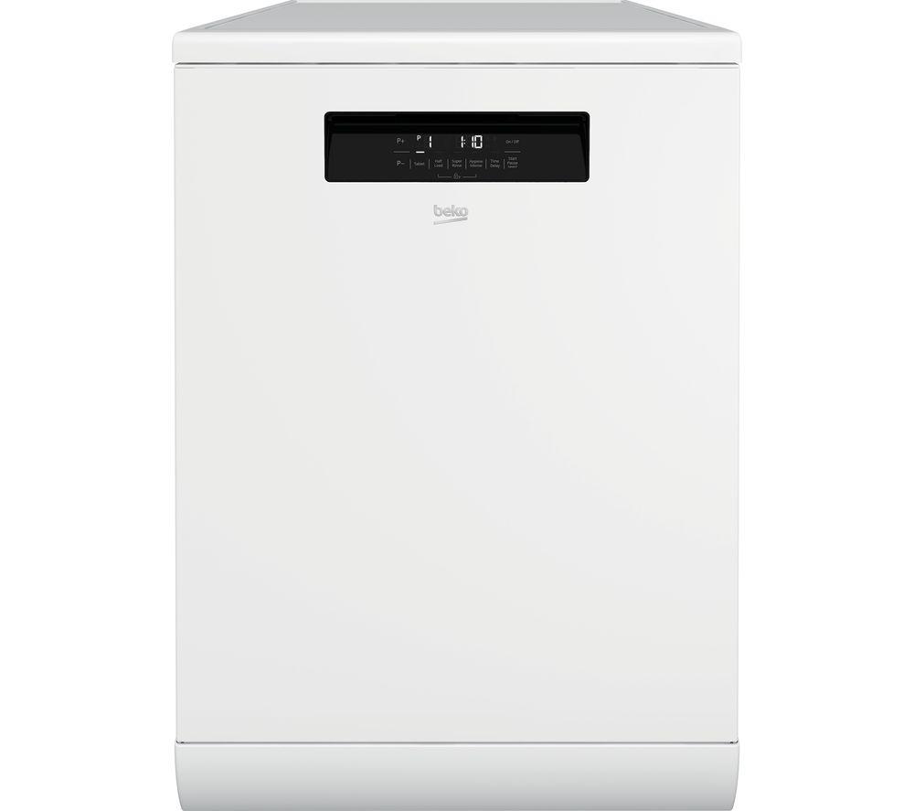 BEKO HygieneShield DEN36X30W Full-size Dishwasher – White