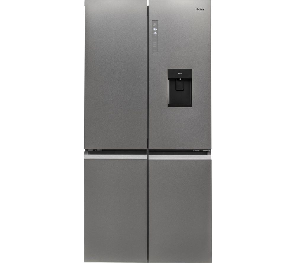 HAIER HTF-520IP7 Fridge Freezer - Silver, Silver